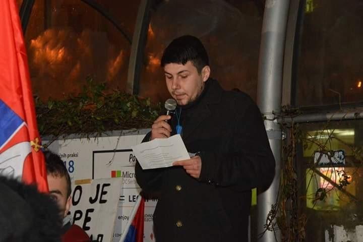 Marjanović iz Pokreta mladih: Osuđujemo svaku vrstu nasilja, kojeg za razliku od Beograda i Novog Sada u Nišu nije bilo