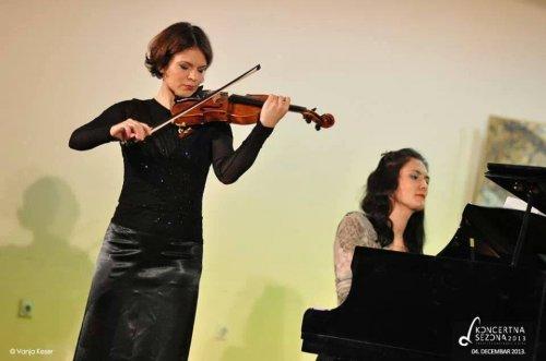 Koncert Mine Mendelson - violina i Senke Simonović - klavir