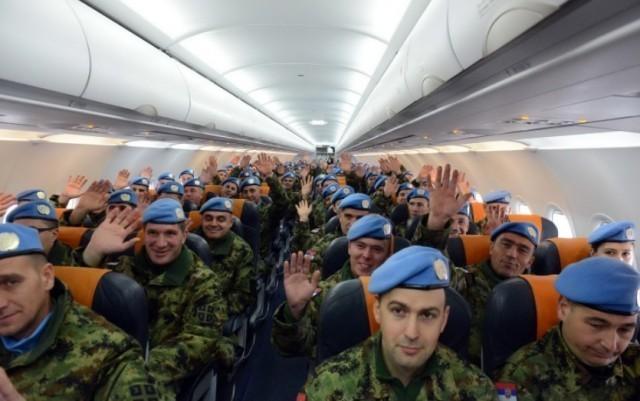 Свечани испраћај мировњака Треће бригаде у Либан