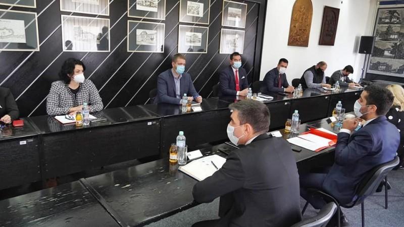 Измештање пруге из центра, једна од тема разговора са министром Момировићем
