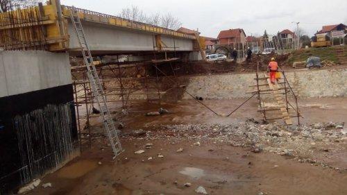 Izgradnja mosta na Kutinskoj reci u Nišu