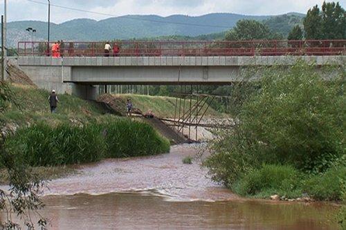 Pušten most na Kutinskoj reci
