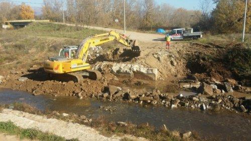 Počeli radovi na izgradnji mosta na Kutinskoj reci