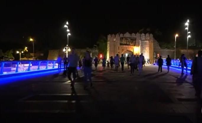 Završen Tvrđavski most - mladi zadovoljni novim modernim izgledom (VIDEO)