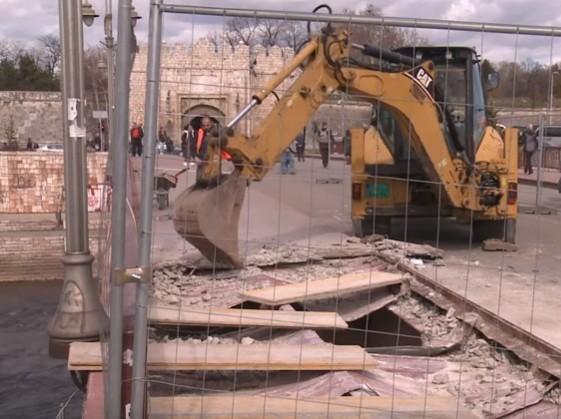 Почела реконструкција Тврђавског моста