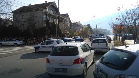 Полиција у Нишкој Бањи Фото: Б. Јаначковић / РАС Србија