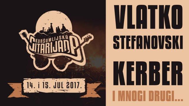 Vlatko Stefanovski i Kerber na Kuršumlijskoj gitarijadi 14. i 15. jula