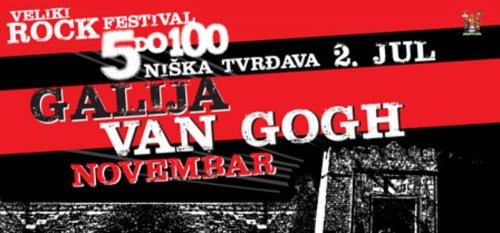 """""""5 do 100"""" – jednodnevni muzički festival u niškoj Tvrđavi"""
