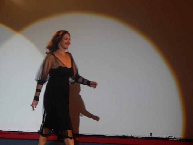 Наташа Нинковић, глумица пете фестивалске вечери
