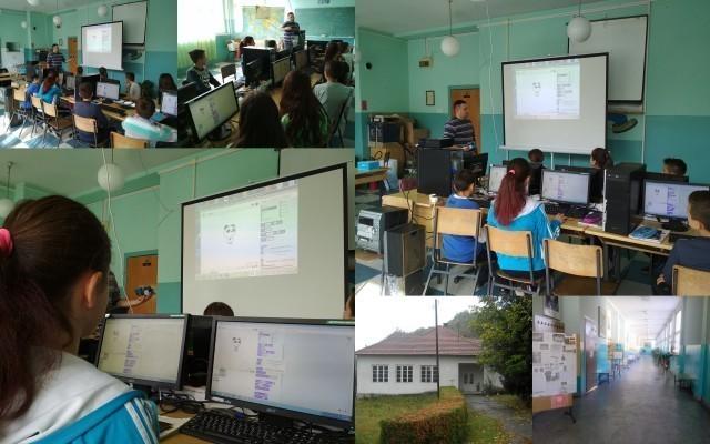 Nedelja programiranja u školi u Vlaolu