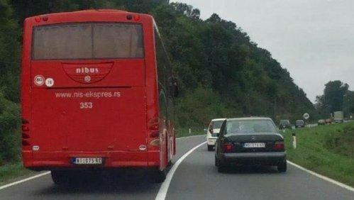 Ниш експрес: Аутобусом преко пуне линије