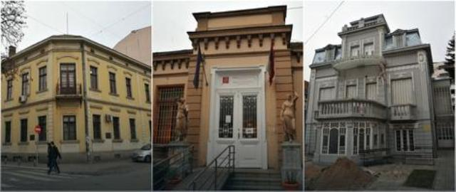Зграде које ће бити обновљене у Нишу Фото: К. Каменов / РАС Србија