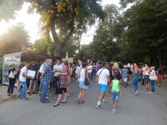 Атмосфера у Тврђави пред почетак, Фото: Њ.П. Јужна Србија