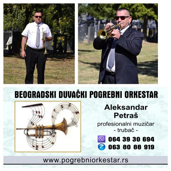 Trubači bleh muzika pogrebni orkestar za sahrane Srbija