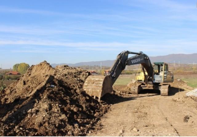 Почела изградња обилазнице у индустријској зони Врања
