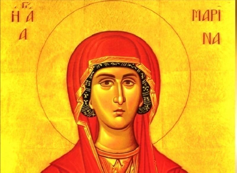 Ognjena Marija - Sveta Velikomučenica Marina