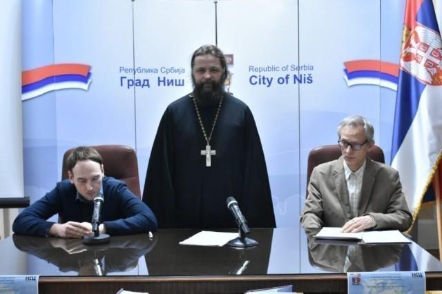Промоција књиге игумана Дионисија из Московске теолошке школе