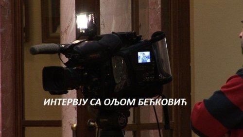 Intervju sa Oljom Bećković (video)