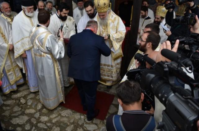 Градоначелник Лесковца Горан Цветановић одликован орденом Светог Саве