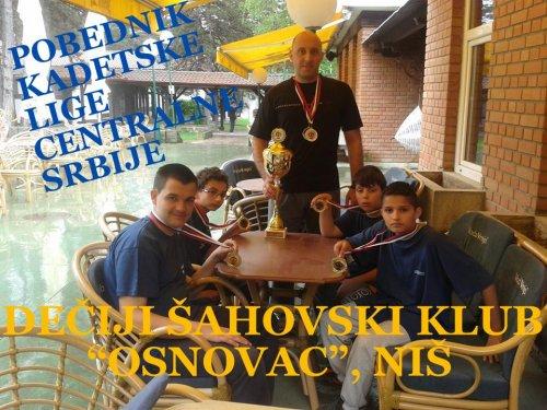 """Osnovac"" iz Niša prvak Srbije"