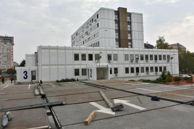 Ускоро завршетак радова на новој гаражи код Дома здравља