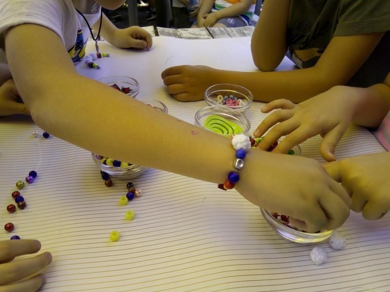 Дечја креативност, перле за развој маште