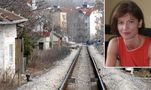 Deo pruge koja prolazi kroz centar grada na Nišavi i direktor Zavoda za urbanizam Tamara Jovanović (gore