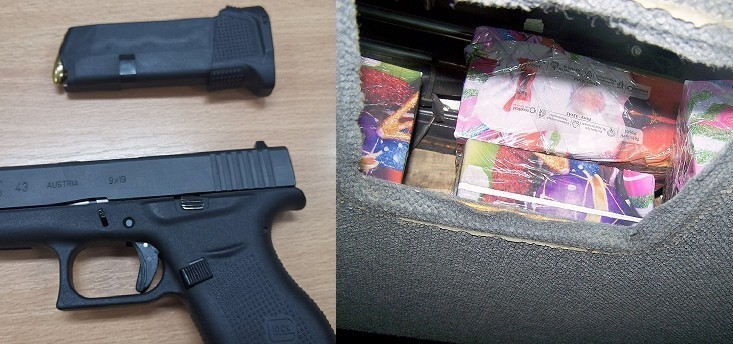 Pištolji i parfemi na granici sa Bugarskom