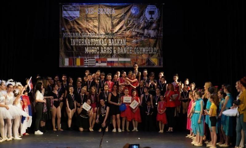 Плесни студио из Ниша освојио Гранд пехар на Интернационалној олимпијади музике