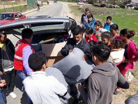 Uručena pomoć za poplavljene romske porodice u Prokuplju