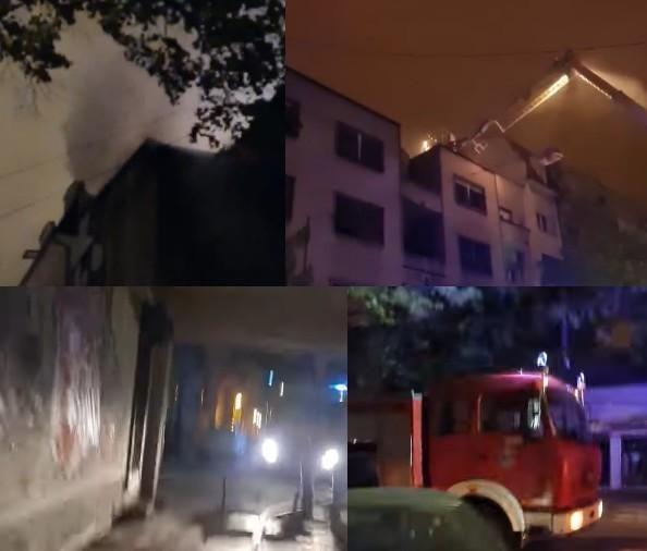 Прошле ноћи у центру Ниша изгорела два стана - нема повређених