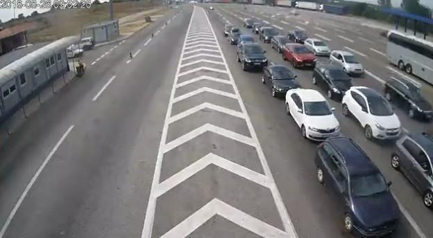 Гранични прелаз Прешево - недеља 26. август