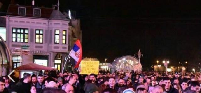 Четврти протест у Нишу почео минутом ћутања