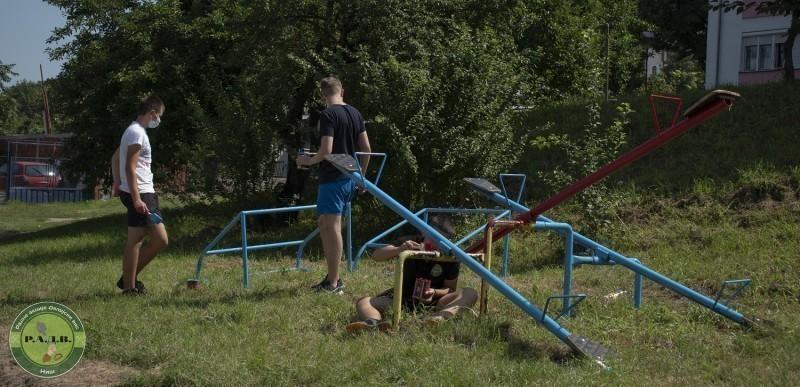 """""""Радне акције Делијски Вис"""" - уређен још један спортски терен"""