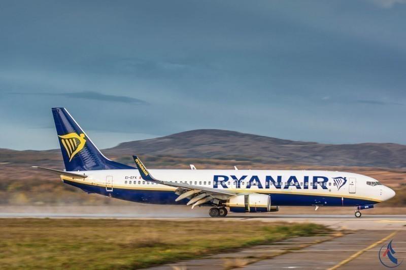 """""""Рајан ер"""" од краја октобра поново лети од Ниша до Стокхолма - цена карте од 40.99 евра"""