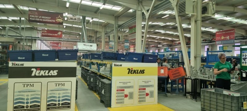 """Разговори са компанијом """"Теклас"""" о отварању погона у Врању, како би се обезбедио посао за део радника """"Геокса"""""""