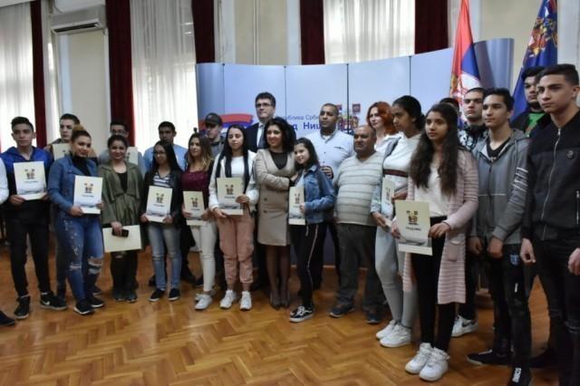 Стипендије за ученике ромске националности