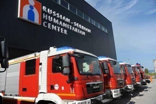 Dačić: Još nije doneta odluka o statusu ruskog humanitarnog centra u Nišu