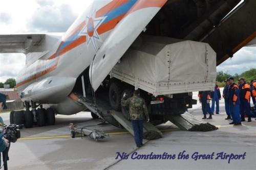 """Tajna """"ruske baze"""" na aerodromu u  Nišu"""