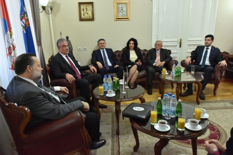 Ruski parlamentarac posetio Niš