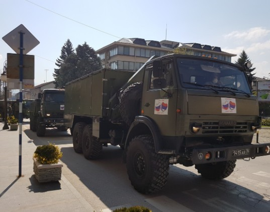 Ruski medicinski tim dezinfikovao zdravstvene objekate u Vranju