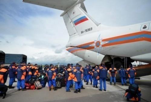ЧИЖИКОВ: Први смо стигли захваљујући Српско-руском хуманитарном центру у Нишу