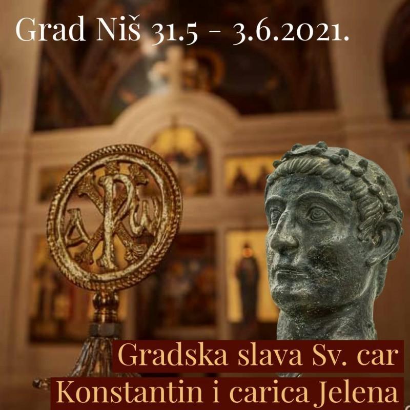 Богат програм обележавања градске славе Свети цар Константин и царица Јелена у Нишу