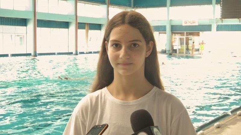Сара Богојевић млада нишка пливачка нада, тринаест година и 130 медаља