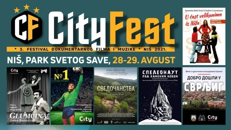 """I ove godine filmovi pod vedrim nebom: Treći Festival dokumentarnog filma i muzike """"Siti fest"""" u Svetosavskom parku"""