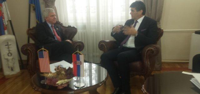 Амерички амбасадор Кајл Скат посетио Ниш