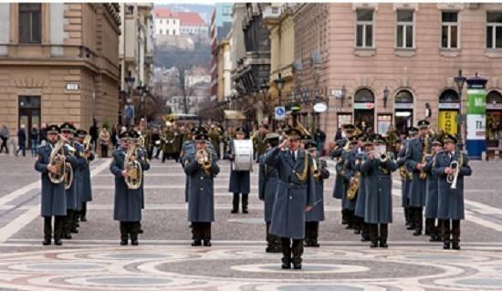 Дани словачке културе у Нишу - Концерт на отвореном Војног оркестра Словачке Републике