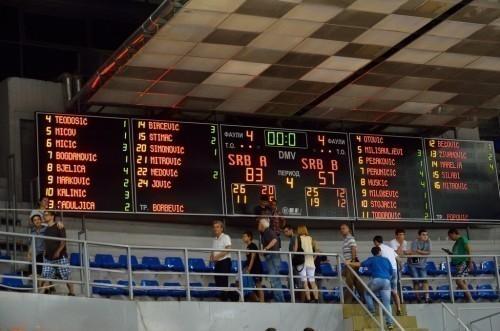 A selekcija uspešno savladala selekciju B u pripremnoj košarkaškoj utakmici