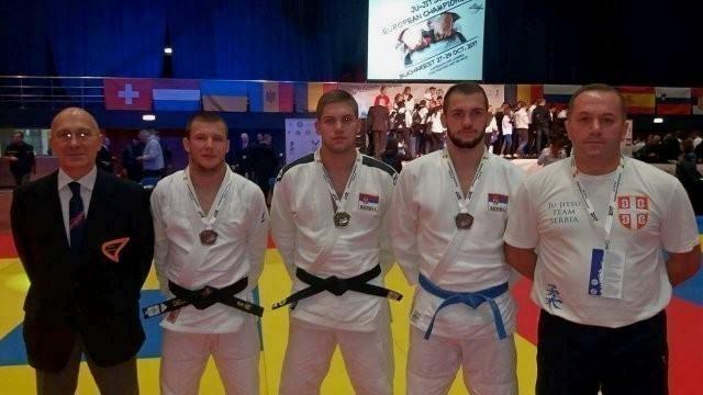 Filip Trajković prvak Evrope za juniore u džiu džici