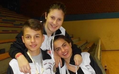 Tri srebra na Trofeju Beograda